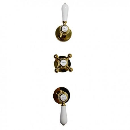 Встроенный смеситель на 2 режима Magliezza Bianco 50668-do