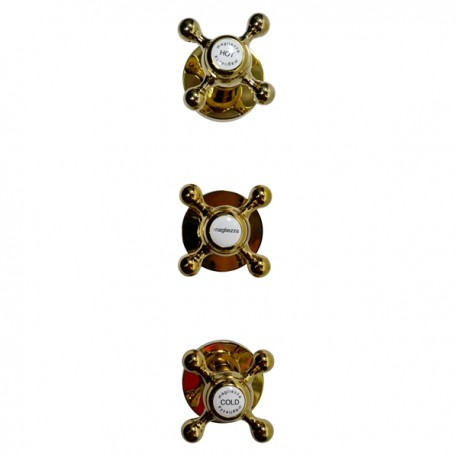 Встроенный смеситель на 2 режима Magliezza Bianco 50667-do