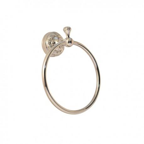 Полотенцедержатель кольцо Magliezza Primavera 80309-cr (хром)