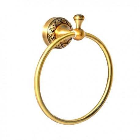 Полотенцедержатель кольцо Magliezza Primavera 80309-br (бронза)