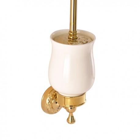 Держатель щетки подвесной Magliezza Primavera 80312-do (золото)