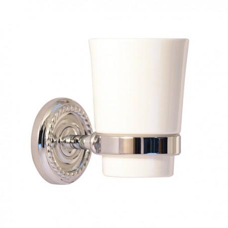 Одинарный стакан Magliezza Kollana 80505-cr (хром)