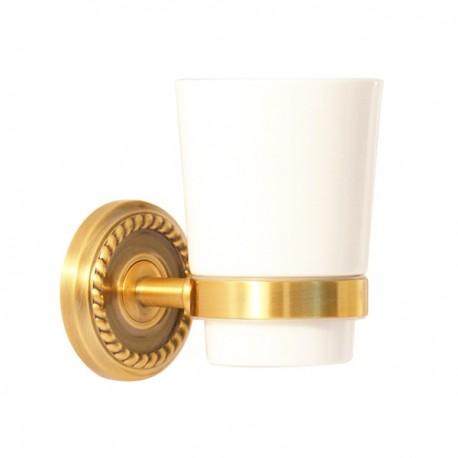 Одинарный стакан Magliezza Kollana 80505-br (бронза)