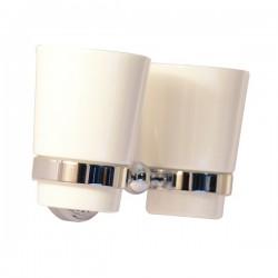 Двойной стакан Magliezza Kollana 80506-cr (хром)