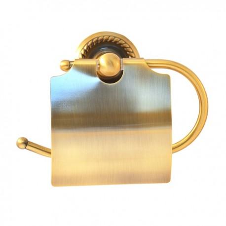 Бумагодержатель закрытый Magliezza Kollana 80508-br (бронза)