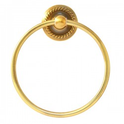 Полотенцедержатель кольцо Magliezza Kollana 80509-br (бронза)