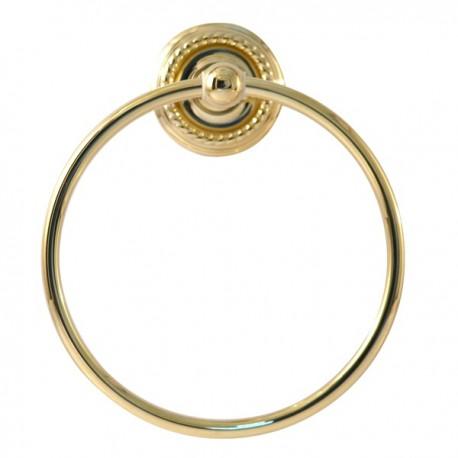 Полотенцедержатель кольцо Magliezza Kollana 80509-do (золото)