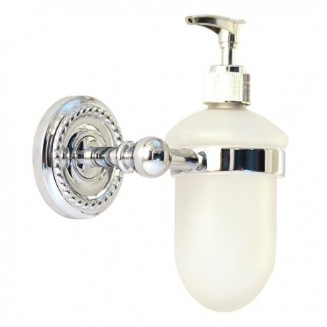 Дозатор для жидкого мыла Magliezza Kollana 80513-cr (хром)
