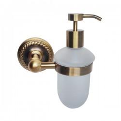 Дозатор для жидкого мыла Magliezza Kollana 80513-br (бронза)