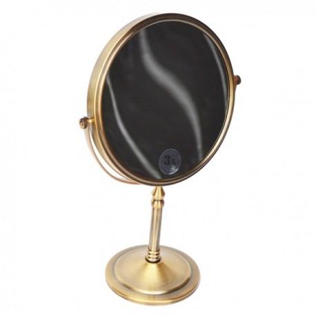 Зеркало косметическое настольное Magliezza Fiore 80106-br (бронза)