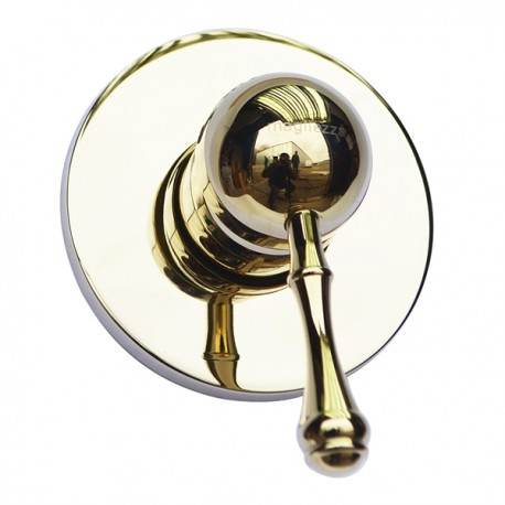 Встроенный смеситель для душа Magliezza Vista 50135-do (золото)