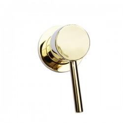 Встраиваемый смеситель для душа Magliezza 50101-do (золото)