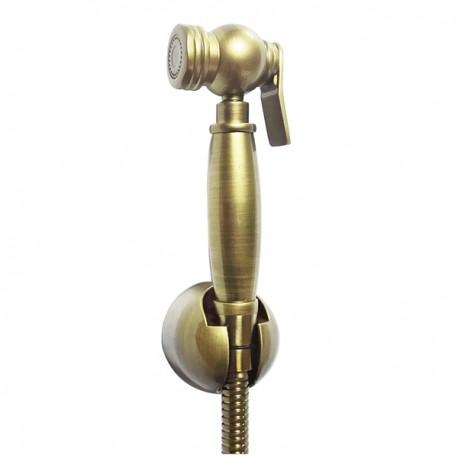 Гигиенический душ со шлангом и держателем Magliezza 50507-br (бронза)