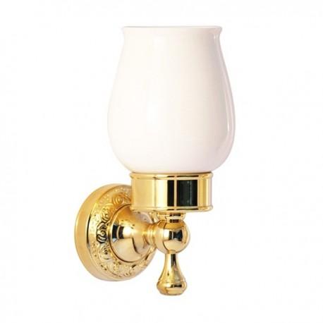 Одинарный стакан Magliezza Primavera 80305-do (золото)