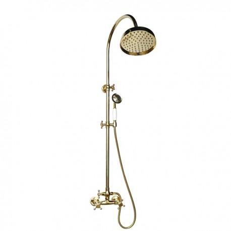 Душевая система Magliezza Classico 1105-do (золото)