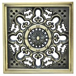 Декоративная решетка для трапа Magliezza 955-br (бронза)