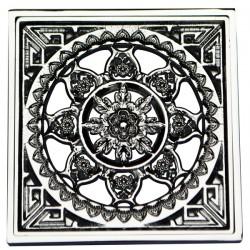 Декоративная решетка для трапа Magliezza 956-cr (хром)