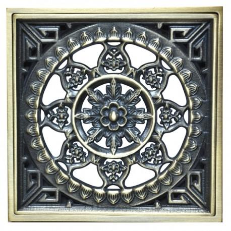 Декоративная решетка для трапа Magliezza 956-br (бронза)