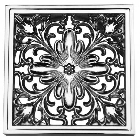 Декоративная решетка для трапа Magliezza 957-cr (хром)