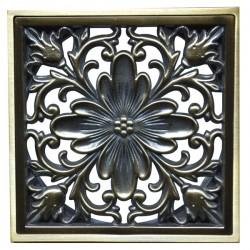 Декоративная решетка для трапа Magliezza 957-br (бронза)
