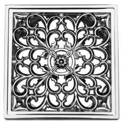 Декоративная решетка для трапа Magliezza 958-cr (хром)