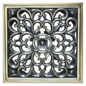 Декоративная решетка для трапа Magliezza 958-br (бронза)