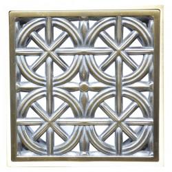 Декоративная решетка для трапа Magliezza 960-br (бронза)