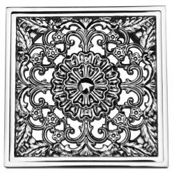 Декоративная решетка для трапа Magliezza 961-cr (хром)