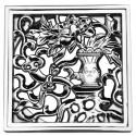 Декоративная решетка для трапа Magliezza 963-cr (хром)
