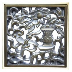 Декоративная решетка для трапа Magliezza 963-br (бронза)