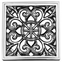 Декоративная решетка для трапа Magliezza 965-cr (хром)