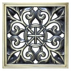Декоративная решетка для трапа Magliezza 965-br (бронза)