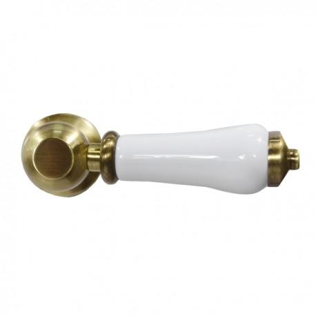Унитаз напольный Magliezza Retro с бачком на средней трубе, цвет бронза