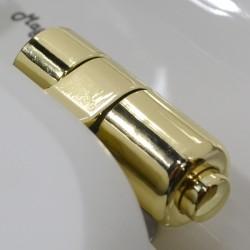 Унитаз напольный Magliezza Retro с боковой ручкой, цвет золото
