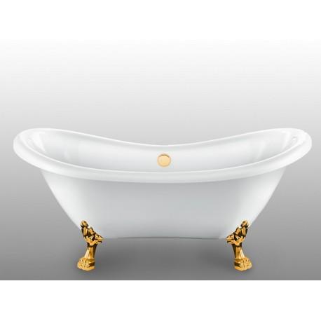 Ванна на лапах Magliezza Julia (175х73), ножки золото