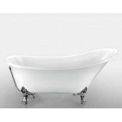 Ванна на лапах Magliezza Vittoria (162.5х69,5), ножки хром