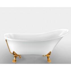 Ванна на лапах Magliezza Vittoria (162.5х69,5), ножки золото